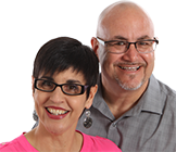 professional portrait of real estate agent Doug and Patty Johnson