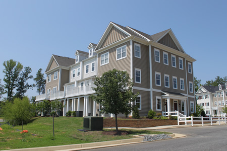 new home community Governor's Grove at Five Forks